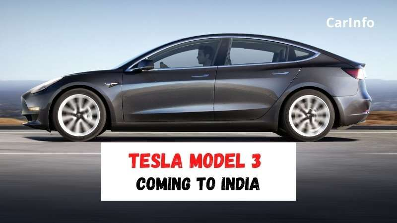 Tesla Model 3 to be launched in India in 2021
