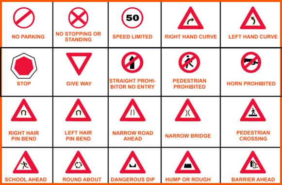How Well Do You Know Your Road signs and Their Meanings?