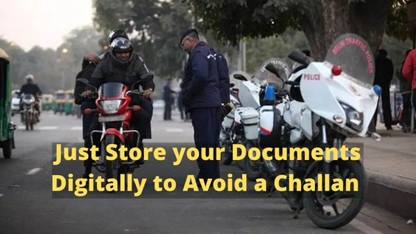 From October 1, you are not required to keep vehicle papers and DL physically