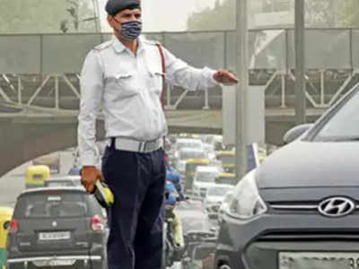 Fine for no high security registration plate in Delhi