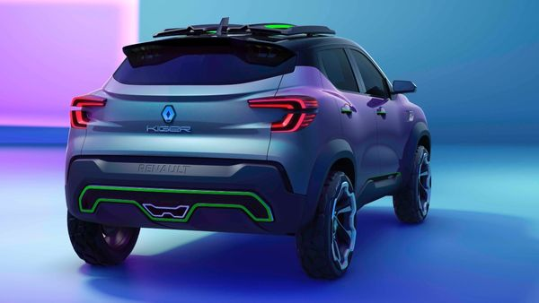 Renault Kiger with new 'HBC' Concept