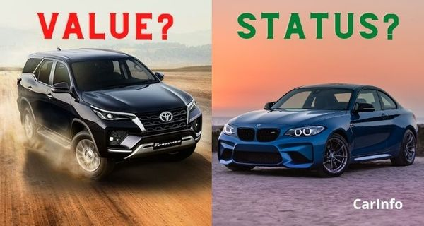 Small car from a luxury brand or big car from a mainstream brand?