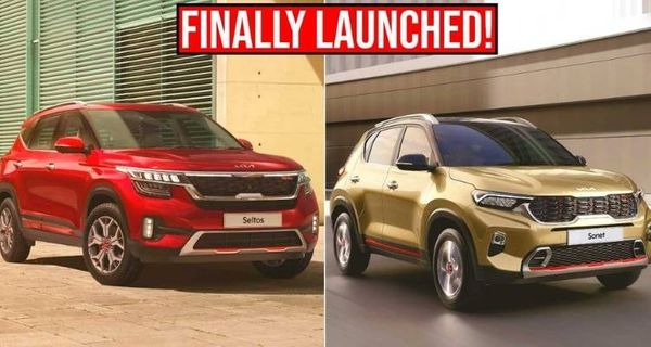 2021 Kia Sonet and Seltos launched in India
